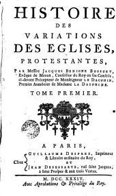 Histoire des variations des églises protestantes, 1