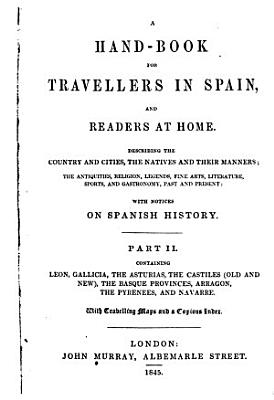 A Hand book for Travellers in Spain