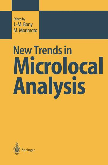 New Trends in Microlocal Analysis PDF