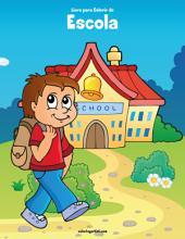 Livro para Colorir de Escola 1