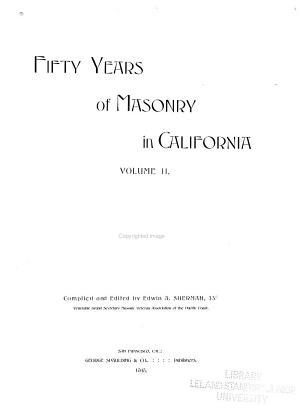 Fifty Years of Masonry in California PDF