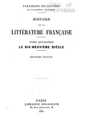 Le dix-neuvième siècle. 2. éd. 1919