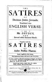 The Satires of Junius Decimus Juvenalis
