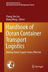 Handbook of Ocean Container Transport Logistics PDF