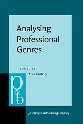 Analysing Professional Genres PDF