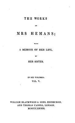 The Works of Mrs  Hemans PDF