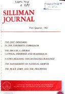 Silliman Journal