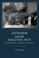Zionism and the Melting Pot PDF
