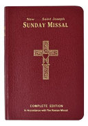St  Joseph Sunday Missal  Canadian Edition