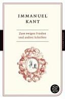 Zum ewigen Frieden und andere Schriften PDF