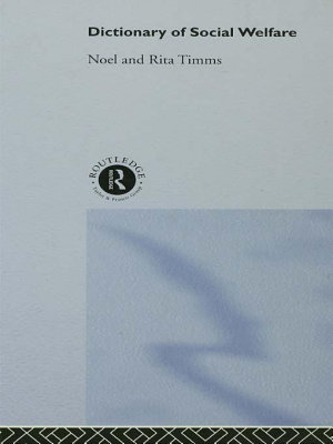 Dictionary of Social Welfare PDF