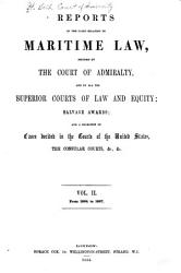 Reports of the Cases Relating to Maritime Law PDF