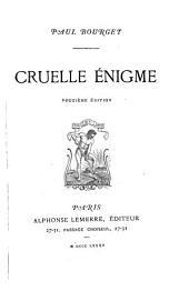Cruelle énigme: Volume12