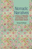 Nomadic Narratives PDF