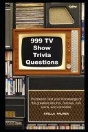 999 TV Show Trivia Questions