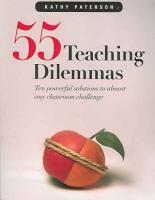55 Teaching Dilemmas PDF