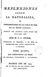 Reflexiones sobre la naturaleza ó consideraciones de las obras de Dios en el órden natural, 4