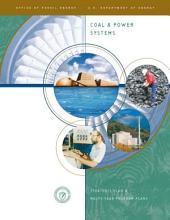 Coal & Power Systems: Strategic Plan & Multi-Year Program Plans