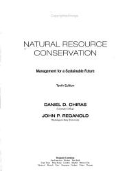 Natural Resource Conservation PDF