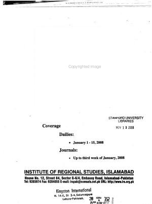 Selections from Regional Press PDF
