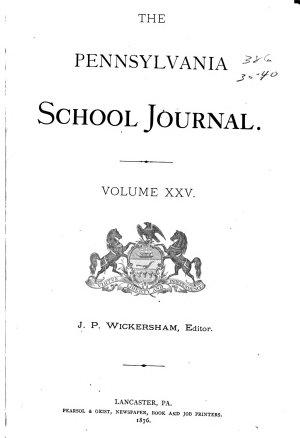 Pennsylvania School Journal