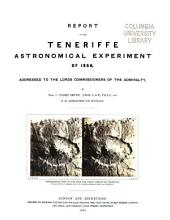 Astronomical Experiment on the Peak of Teneriffe