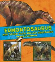 Edmontosaurus and Other Duck Billed Dinosaurs PDF