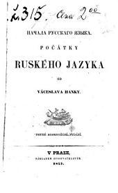 Počátky ruského jazyka