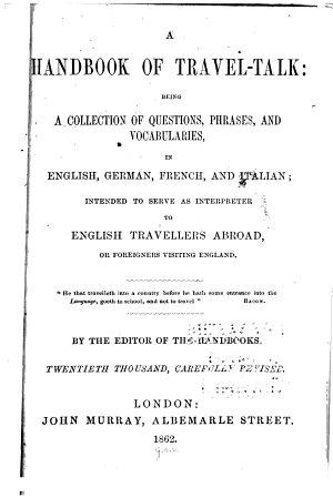 A handbook of travel talk