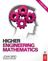 Higher Engineering Mathematics  7th ed PDF