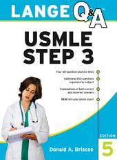 Lange Q&A USMLE Step 3, Fifth Edition: Edition 5