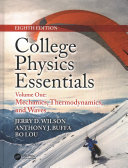 College Physics Essentials  Eighth Edition  Two Volume Set  PDF