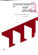 Download Environment and Planning Book
