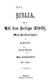 Biblia, det är all den Heliga Skrift: b. Nya Testamentet