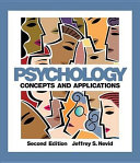 Psychology  Concepts and Applications PDF