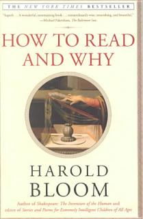 How to Read and Why Book