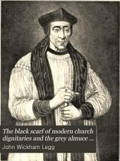 The Black Scarf of Modern Church Dignitaries and the Grey Almuce of Mediaeval Canons