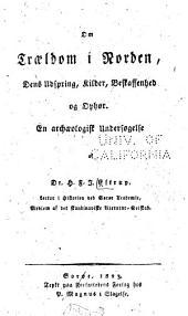 Om troeldom i Norden: dens udspring, kilder, beskaffenhed og ophør, en archaeologisk undersøgelse af H.F.J. Estrup