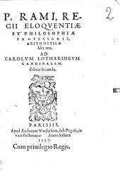 Arithmeticae libri tres