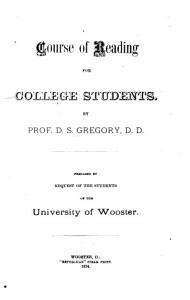 Course of Reading for College Students PDF