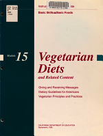 Vegetarian Diets and Related Content PDF