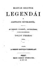 Magyar szentek legendái a Carthausi Névtelentől