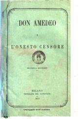 Don Amedeo e l'onesto censore