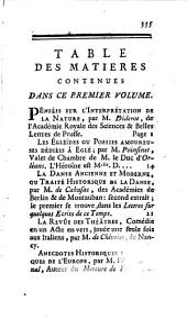 L'Année littéraire: ou, suite des lettres sur quelques écrits de ce temps, Volume1