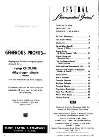 Central Pharmaceutical Journal