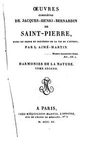 Œuvres complètes de Jacques-Henri-Bernardin de Saint-Pierre: Volume12