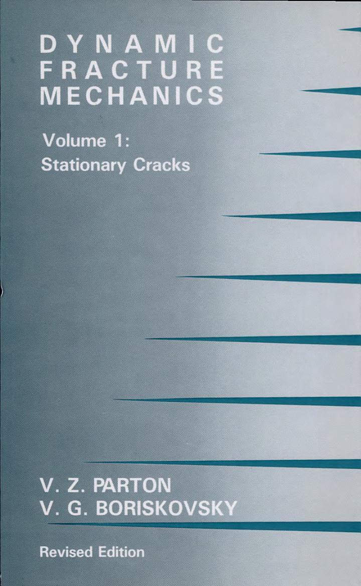 Dynamic Fracture Mechanics: Stationary cracks