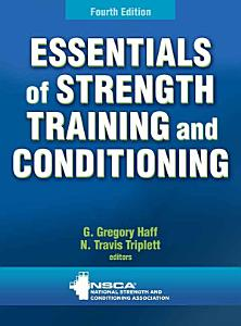 Essentials of Strength Training and Conditioning 4th Edition Book