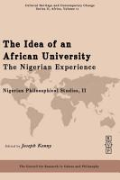 The Idea of an African University PDF
