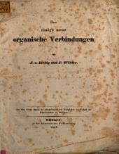 Ueber einige neue organische Verbindungen von J. v. Liebig u. F. Woehler